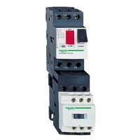 Пускатель Schneider Electric TeSys GV2DM 18А, 7.5кВт 400/24В